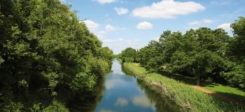 Rénovation des berges du canal de Jouy